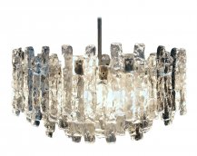 Custom Glass Chandelier